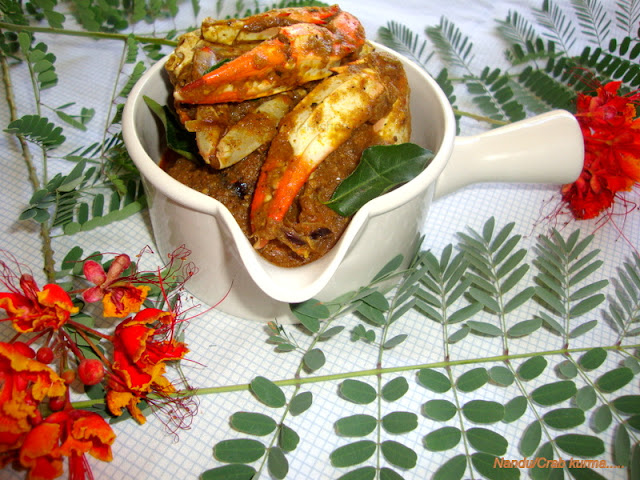 images of Nandu Masala Recipe / Crab Masala Recipe / Nandu Varuval Recipe