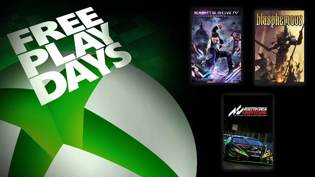 assetto corsa competizione blasphemous saints row 4 re-elected xbox live gold free play days event