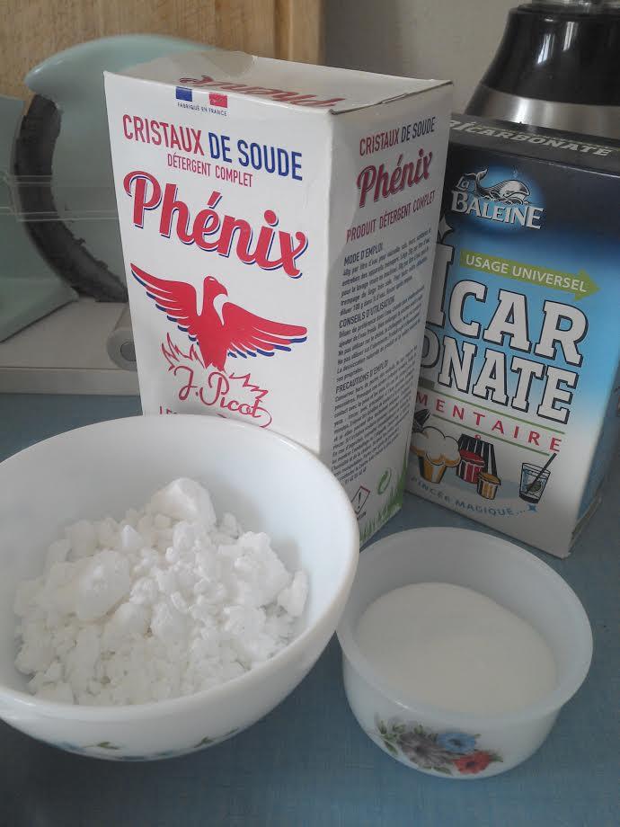 Recette lessive maison avec un pas pas dedans - Difference entre cristaux de soude et bicarbonate de soude ...