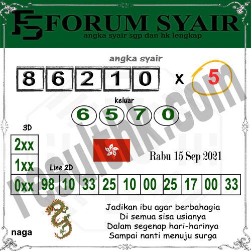 Forum syair hk Rabu 15 September 2021