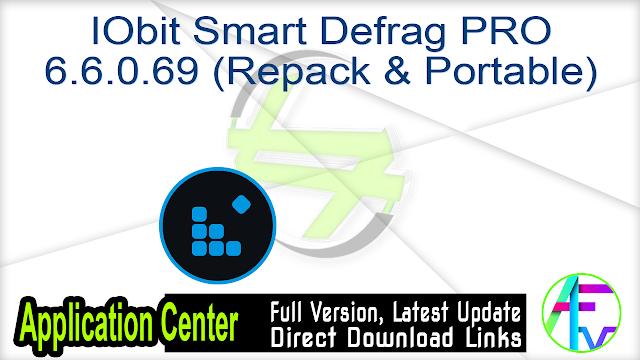 IObit Smart Defrag PRO 6.6.0.69 (Repack & Portable)