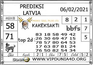 Prediksi Togel LATVIA DUNIA4D 06 FEBRUARI 2021