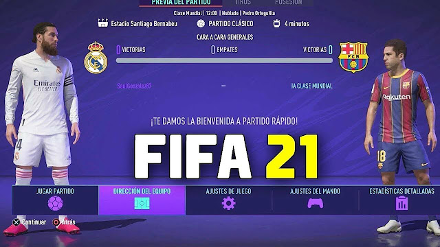 Download FIFA 21 Mobile Android Offline 900MB Best Graphics Kits & Transfers Update