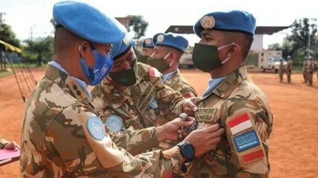 Luar Biasa, Prajurit TNI Dapat Penghargaan Tertinggi dari PBB