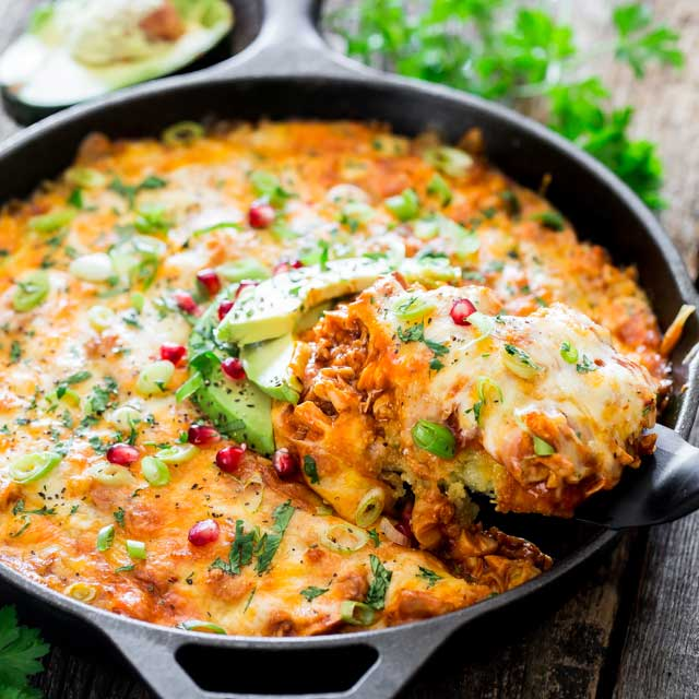 #CHICKEN #TAMALE #CASSEROLE #Dinner #Healthyrecipes