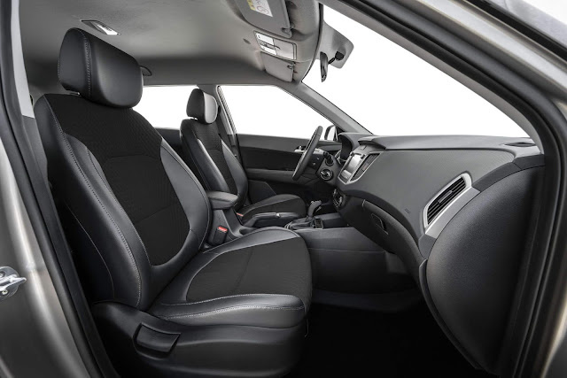 Hyundai Creta 2021 1.6 Automático - interior