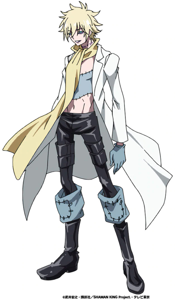 Shaman King anime (2021) - Faust VIII