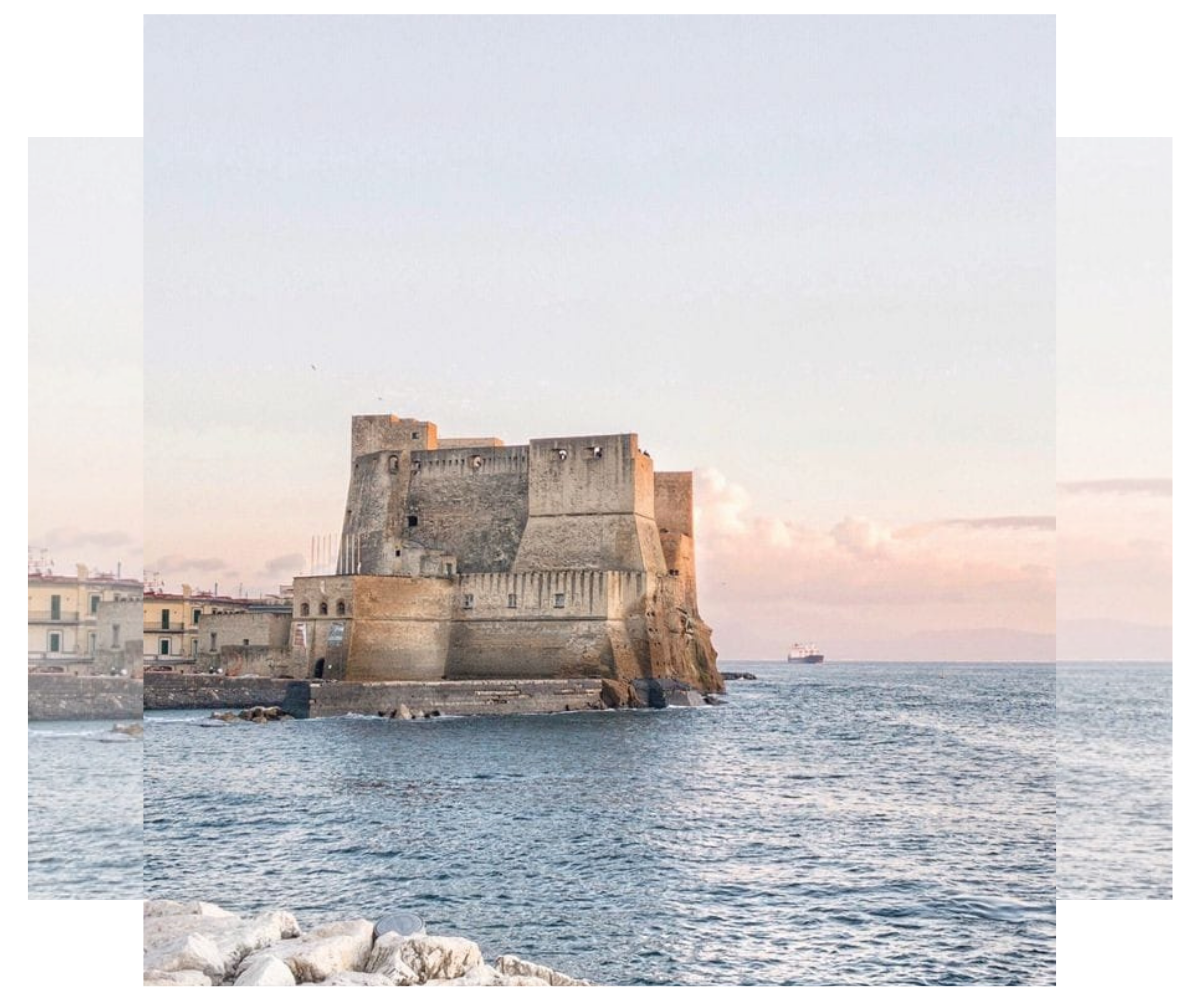 Castell dell 'Ovo. Nápoles