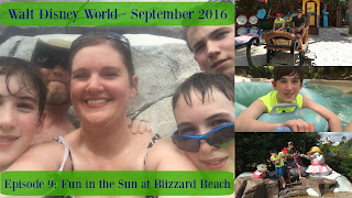 Episode 9: Fun in the Sun at Blizzard Beach Water Park – Walt Disney World – September 2016