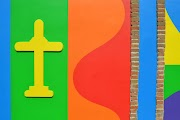 Nelle Langhe la chiesa più colorata d'Italia