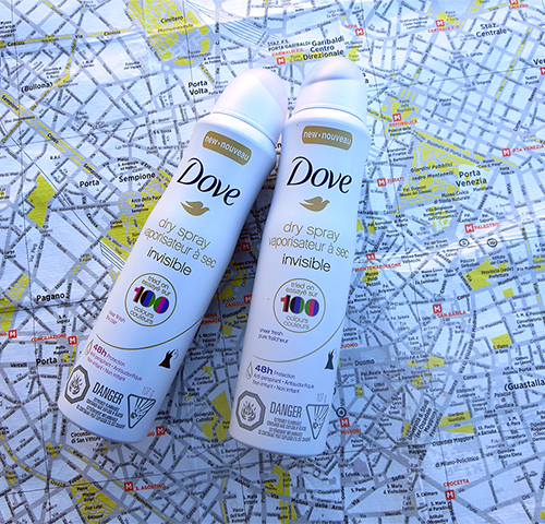 Dove Dry Spray Deodorant  CLEAR FINISH SHEER FRESH ~#Review