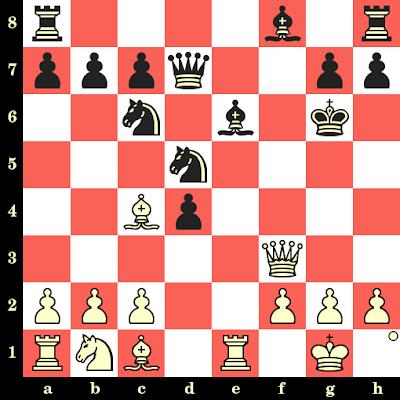 Les Blancs jouent et matent en 4 coups - Christoph Schroder vs Alexander Illgen, Dresde, 1926