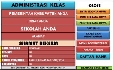 Download Aplikasi Administrasi Kelas terlengkap