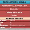 Download Aplikasi Administrasi Kelas terlengkap Untuk SD