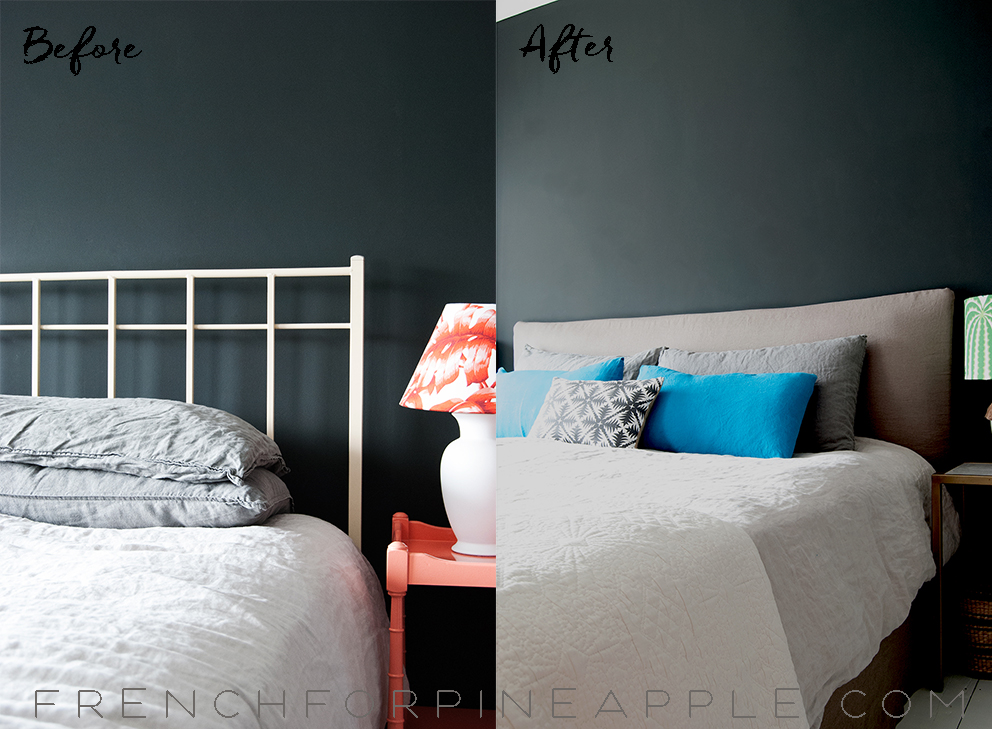Bed Hack Before And After - French For Pineapple Blog