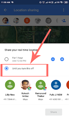Google Map se Kisi Ka Live Location Kaise Check Kare