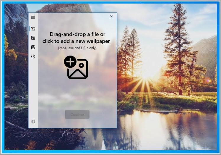 Active Desktop Plus : Χρησιμοποιείτε οποιοδήποτε βίντεο, ιστοσελίδα ή εφαρμογή ως ταπετσαρία.