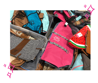 Clearance Monogrammed Accessories Clothing and Bags