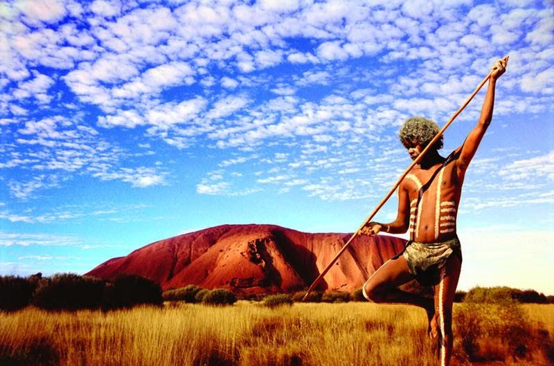 Aboriginal Warrior, Uluru