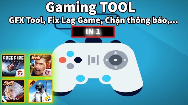 GAMING TOOL - Ứng dụng BÁ ĐẠO không thể thiếu khi chơi Game Liên Quân, Free Fire, Pubg Mobile