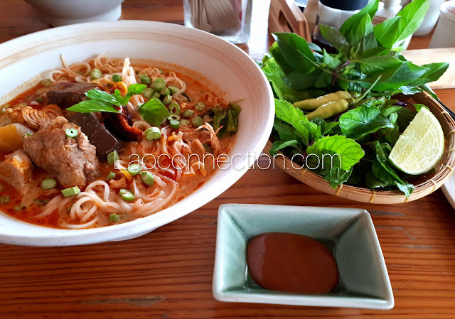 ແຊບມາເດີ ມີກະຕິ Come and eat mee ka tee Lao noodle soup