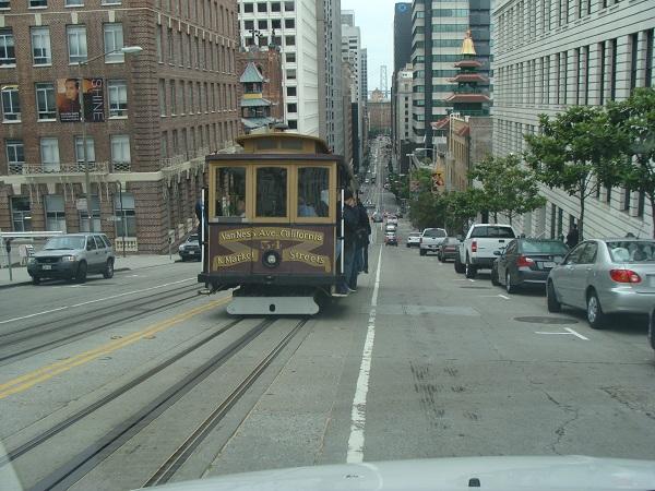 Fahrt mit dem Cable Car durch San Francisco!