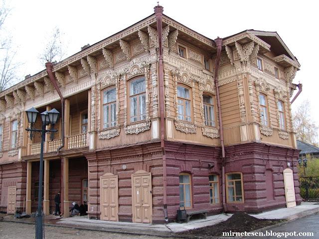 Деревянные дома Томска - дом Шишкова