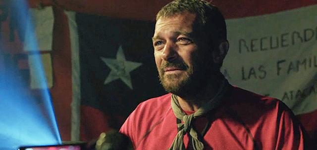 Antonio Banderas în filmul The 33, povestea adevărată a minerilor chilieni