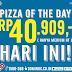 Promo Domino's Pizza Of The Day hanya Rp. 40.909