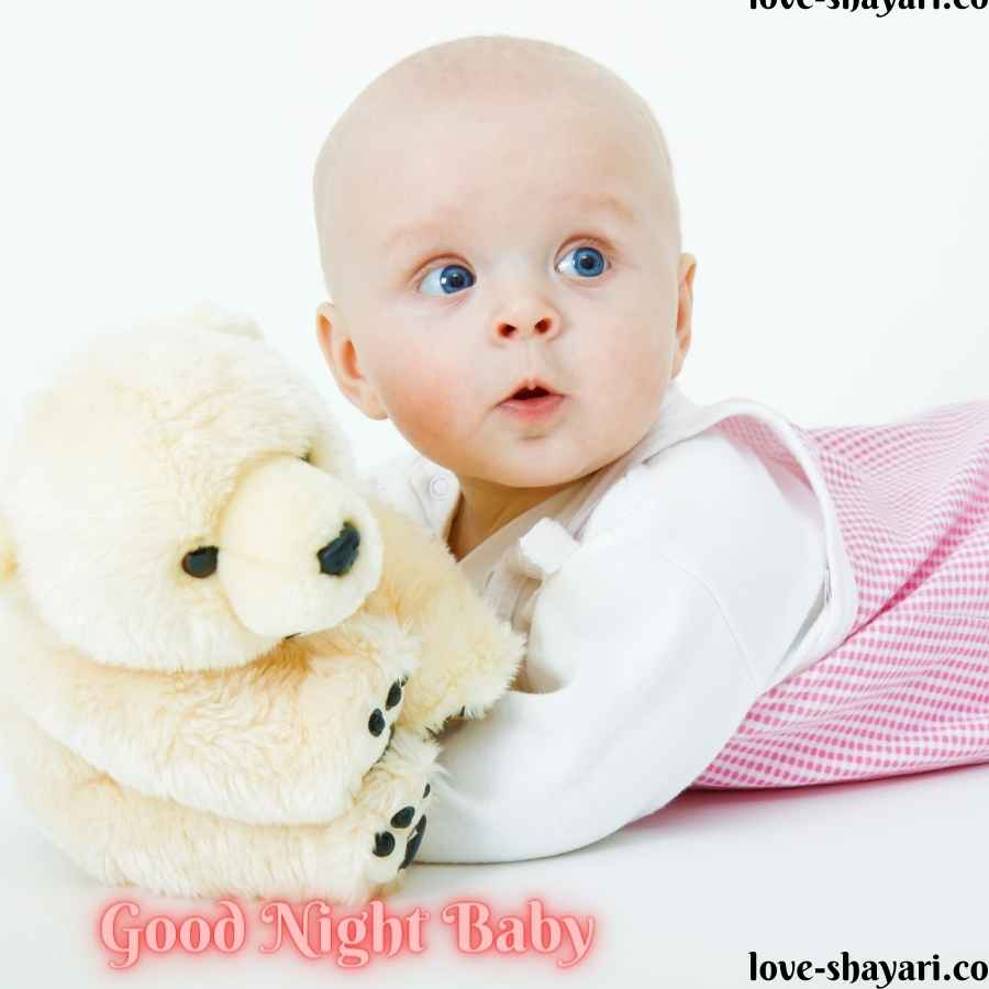 goodnight cute baby