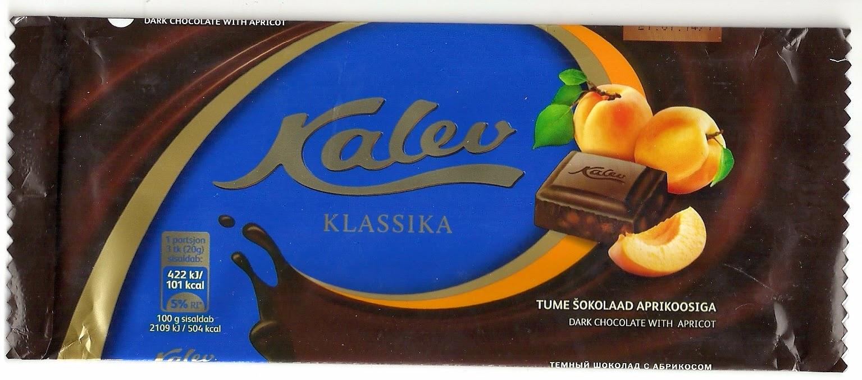4e668bad042 Janne šokolaadipaberid: 2014 Kalev Klassika - Tume šokolaad ...