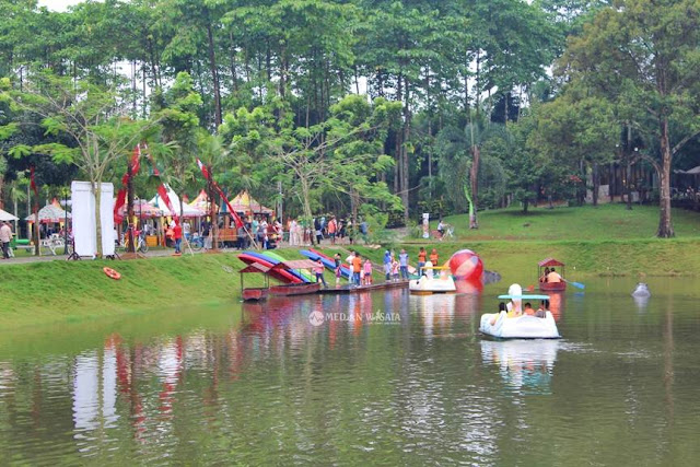 Rekreasi Asik di Budaya Resto Tanjung Morawa
