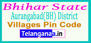 Aurangabad(BH) District Pin Codes in Bhihar State