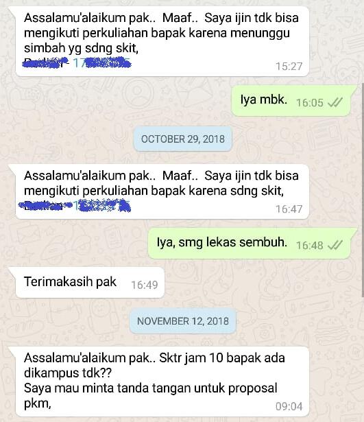 Contoh Surat Izin Sakit Lewat WhatsApp (via: contohsuratin.com)
