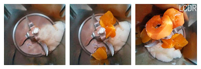 Receta de smoothie de papaya, carambola y mandarina 01