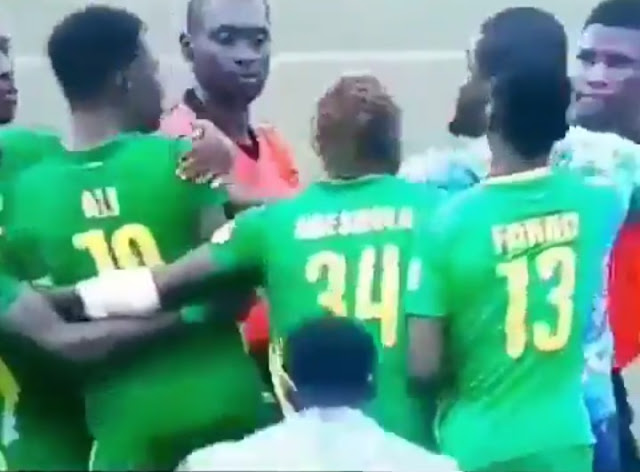 Referee run for his life as Kano Pillars fans attack in Lagos