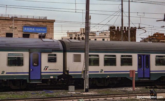 Expresso Leonardo, trem do aeroporto de Fiumicino para o Centro de Roma
