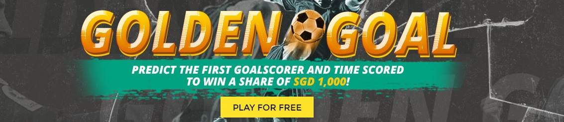 Golden Goals - Predict the 1st Goal Scorer