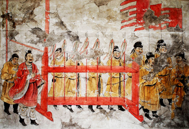 Tang Dynasty half-trident