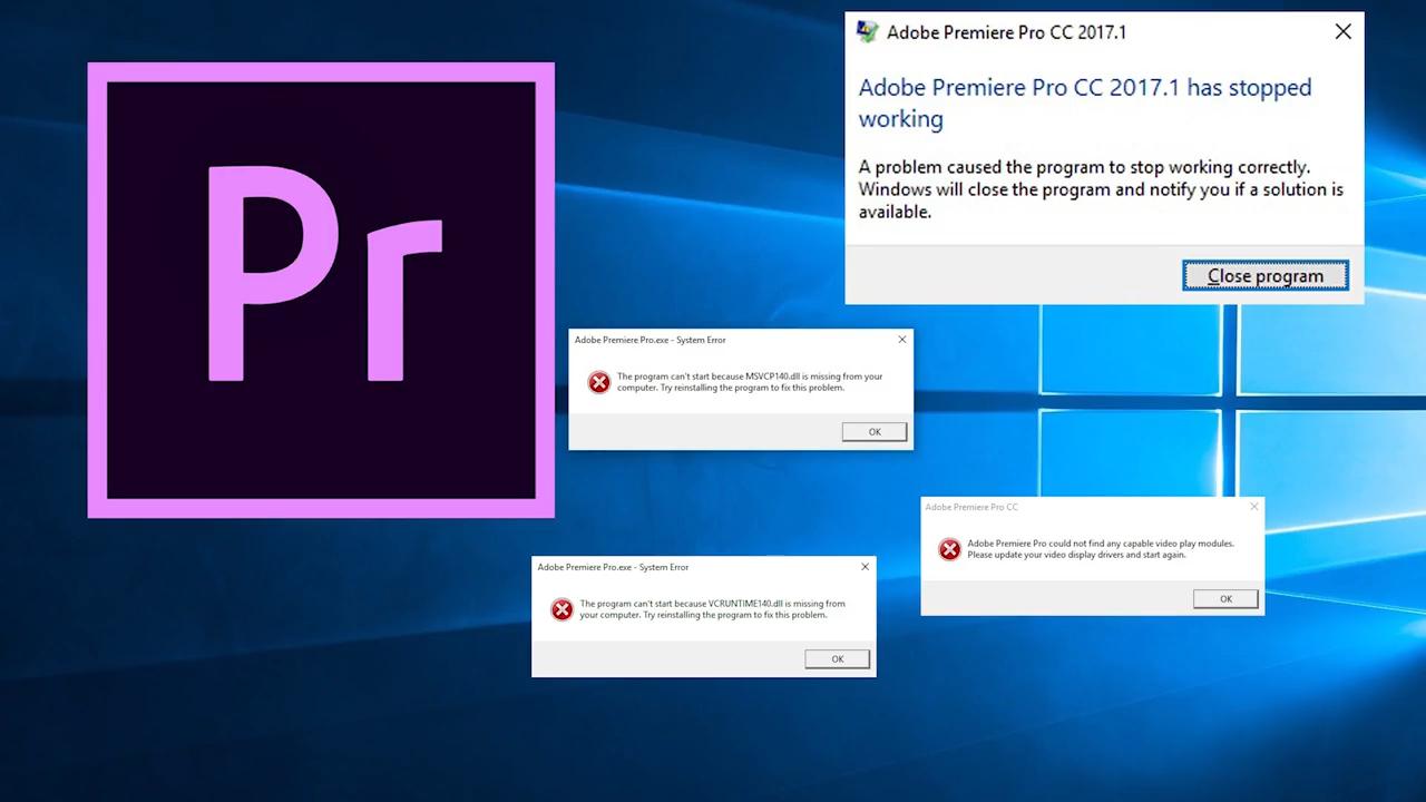 Cara Mengatasi Stop Working Di Adobe Premiere Cc Ilmu Gratis Gan