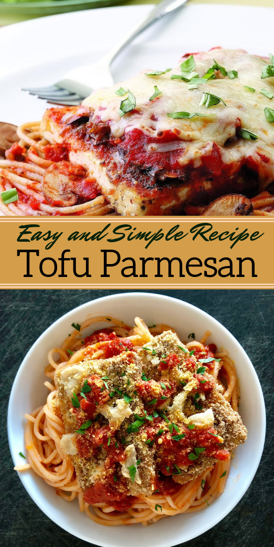 Tofu Parmesan #dinnerrecipe #food #amazingrecipe #easyrecipe