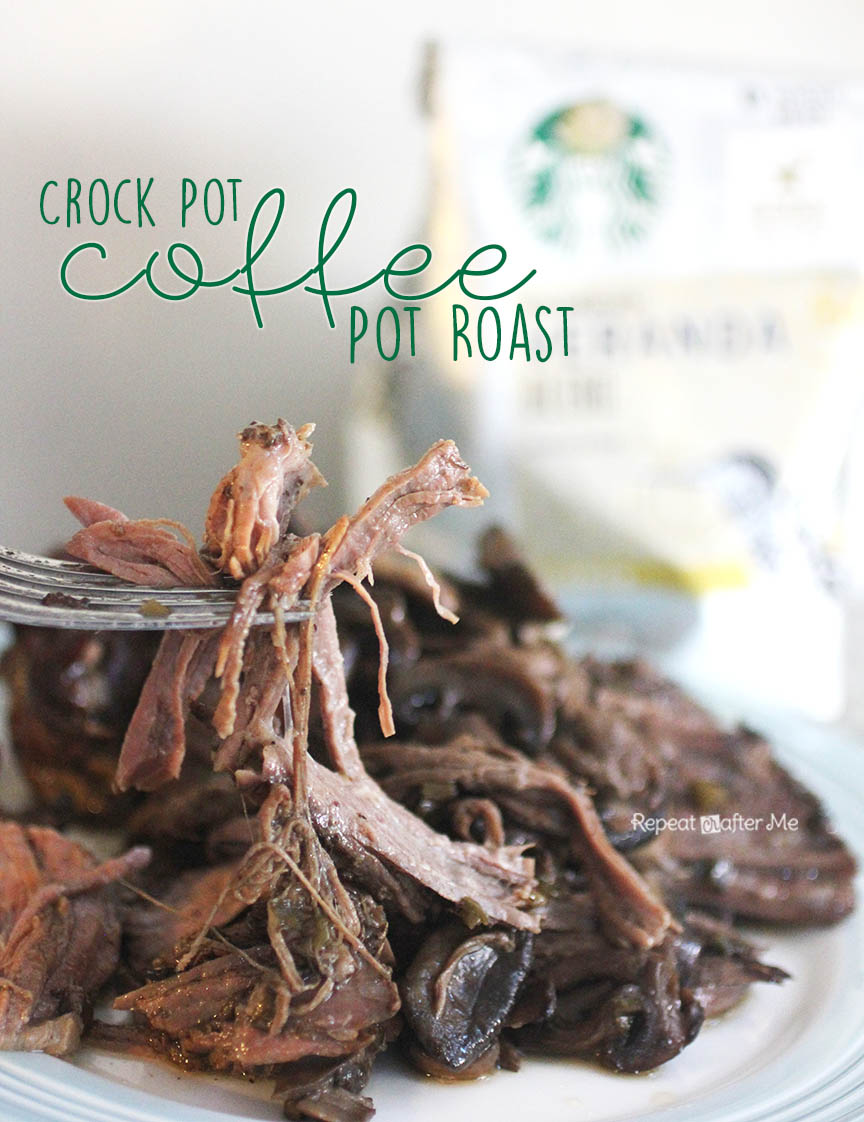 Crock Pot Starbucks Coffee Pot Roast