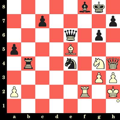 Les Blancs jouent et matent en 4 coups - Ingvar Asmundsson vs Rogelio Ortega, Lugano, 1968
