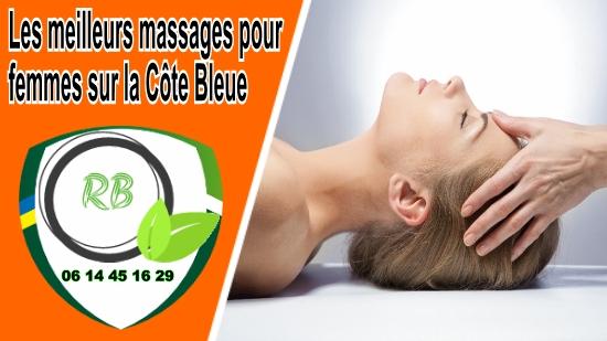 meilleurs massages pour femmes sur la Côte Bleue;