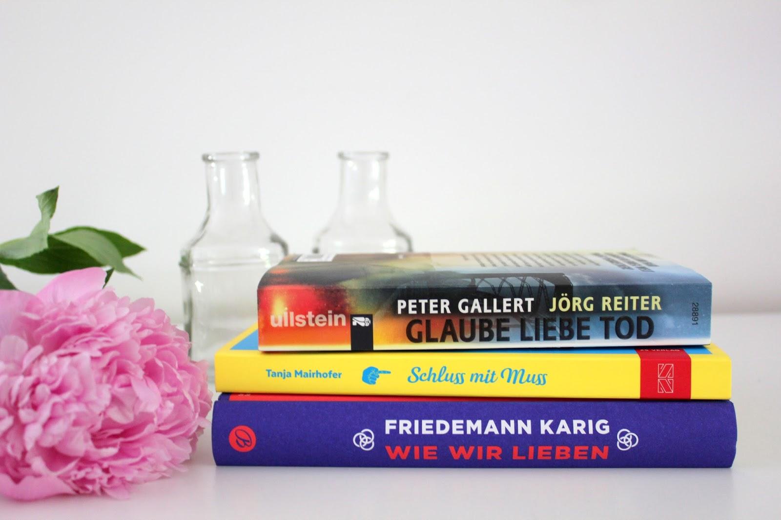 Die Liebe zu den Büchern Juni 2017