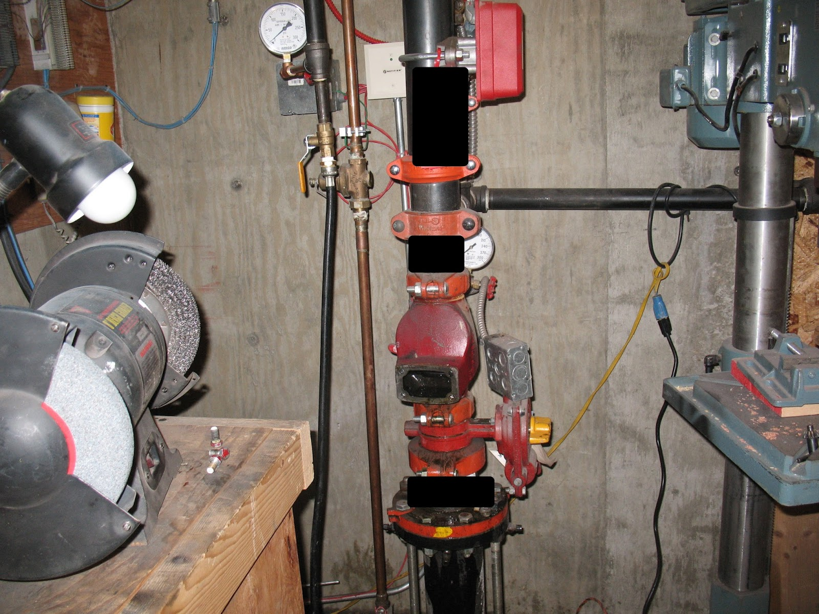 Fire protection deficiencies on check valves for Fire sprinkler system cost calculator