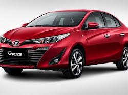 Tampilan Terbaru Toyota Vios yang Lebih Gagah dan Mewah