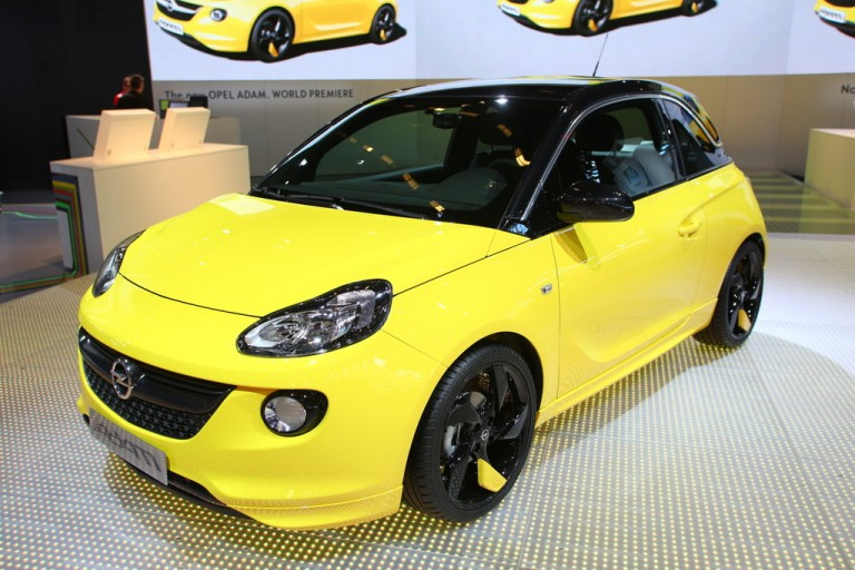 paris 2012 2013 opel adam live photos details and price garage car. Black Bedroom Furniture Sets. Home Design Ideas