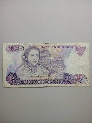 10000 rupiah tahun 1985