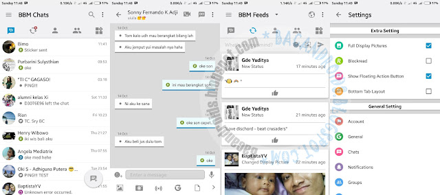 BBM Mod Like iOS The Light v12 Style v3.1.0.13 Apk Terbaru For Android